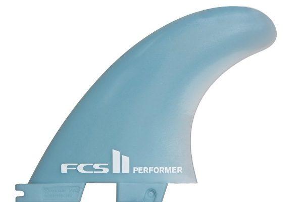 FCS II Fins Performer Glass Flex Tri Set Medium